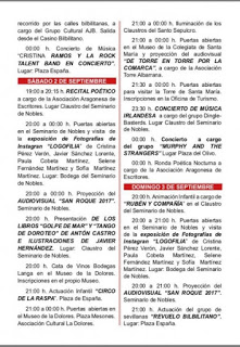 CALATAYUD. Ilumina Calatayud y ruta de tapas (del 1 al 3 de septiembre)