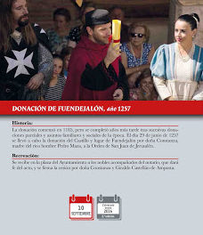 FUENDEJALÓN. Recreación histórica de la Donación de Fuendejalón (domingo, 10)