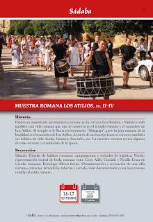 SÁDABA. Muestra romana Los Atilios (sábado, 16, y domingo, 17)