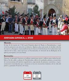 ZARAGOZA / FUENDETODOS. III Fiesta Goyesca (del 25 al 1)
