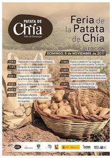 CHÍA. Feria de la patata (domingo, 5)