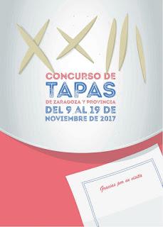 Se acaba el plazo de inscripción en el Concurso de Tapas de Zaragoza y provincia