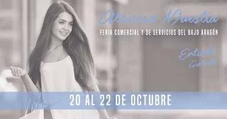 ALCORISA. I Feria Comercial y de Servicios del Bajo Aragón (del 20 al 22)