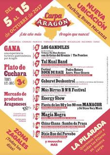 PILAR. Carpa Alimentos de Aragón (del 5 al 15)