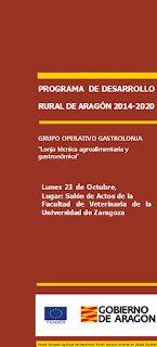 Presentación del Grupo Operativo Lonja Técnica Agroalimentaria y Gastronómica: GastroLonja (lunes, 23)