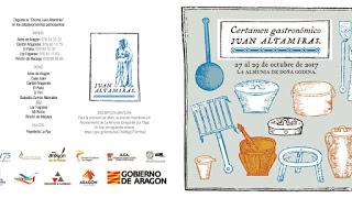 LA ALMUNIA DE DOÑA GODINA. Certamen gastronómico Juan Altamiras (del viernes, 27, al domingo, 29)