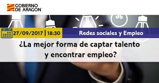 """Charla """"Las redes sociales para impulsar la cultura del vino en Aragón"""" (martes, 17)"""