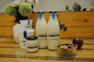 Degustación de lácteos TORRECONDE en La Salud (martes, 31)