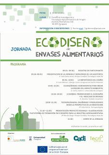 Jornada sobre Ecodiseño de Envases Alimentarios (martes, 24)