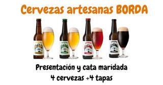 Presentación y cata de cervezas artesanas (miércoles, 18)