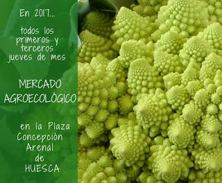 HUESCA Mercado agroecológico (jueves, 5 y 19)