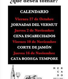 Jornadas del vermut en el MERCADO DE RIC (viernes, 27)