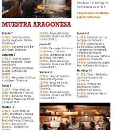 PILAR. Muestra Aragonesa (del 7 al 15)