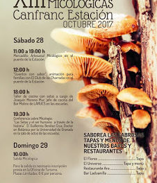 CANFRANC ESTACIÓN. Jornadas micológicas (días 28 y 29)