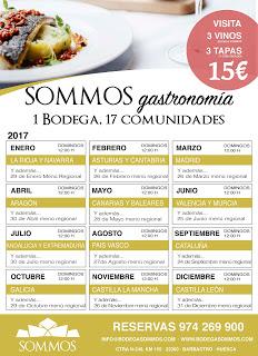 BARBASTRO. SOMMOS gastronomía (domingos de noviembre)