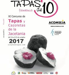 JACETANIA. XI Concurso de Tapas y Cazoletas de la Jacetania (del 16 al 22)