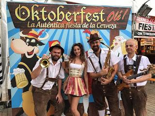 PILAR. Fiesta de la cerveza Oktoberfest Olé (hasta el 22 de octubre)
