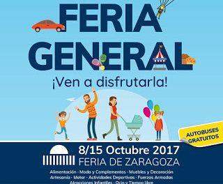 PILAR. Feria general de Zaragoza (del 8 al 15)