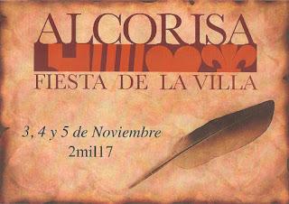 ALCORISA. Fiesta de la Villa de Alcorisa (del 3 al 5 de noviembre)