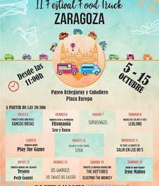 PILAR. Ebro Food. II Festival Food Truck (del 5 al 15)