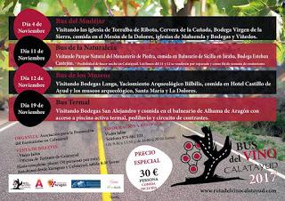 ZARAGOZA / CALATAYUD. Bus del vino Calatayud (domingo, 19)
