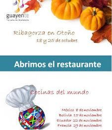 SAHÚN. Menú especial Bolivia en Guayente (miércoles, 15)