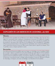 ARÁNDIGA. Recreación histórica de la expulsión de los moriscos (sábado, 11)