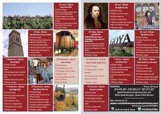 ZARAGOZA / CARIÑENA. Excursión Ruta del Vino Campo de Cariñena (sábado, 11)