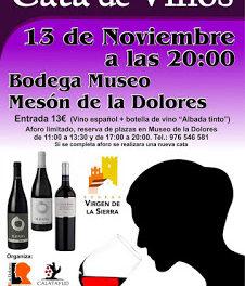 CALATAYUD. Cata de vinos (lunes, 13)