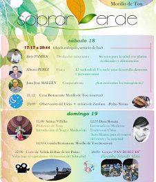 MORILLO DE TOU. Jornadas de Tradición y Sostenibilidad Sobrarverde (sábado, 18, y domingo, 19)