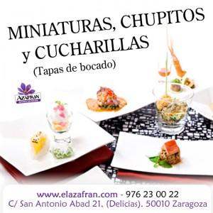 Curso de cocina en miniatura en AZAFRÁN (de martes a jueves, del 14 al 16)