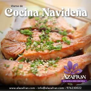 Curso de cocina navideña I en AZAFRÁN (de martes a jueves, del 21 al 23)