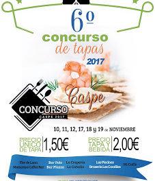 CASPE. Concurso de tapas (del 10 al 12 y del 17 al 19)