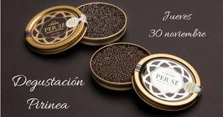 Presentación y degustación de caviar (jueves, 30)