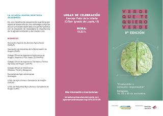 Jornadas Verde que te quiero verde (jueves, 23 y 30 de noviembre)