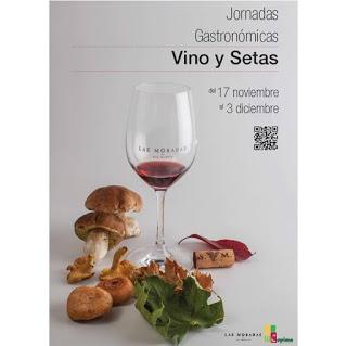 ARAGÓN. Jornadas gastronómicas de Vino y Setas con LAS MORADAS DE SAN MARTÍN (del 17 de noviembre al 3 de diciembre)