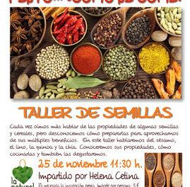 Taller de cocina 'Y esto… ¿cómo se come?'  en LA NATURAL (sábado, 25)