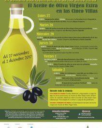 CINCO VILLAS. VII Semana Gastroalimentaria (del 27 a 2)