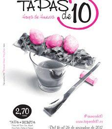 HOYA DE HUESCA. Tapas de 10 (del 16 al 26 de noviembre)