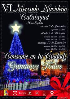 CALATAYUD. VI Mercado navideño (del viernes, 8, al domingo, 10)
