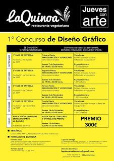 Concurso de diseño gráfico y fiesta (jueves, 14)
