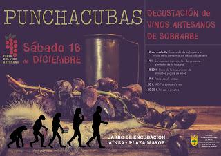 AÍNSA. Punchacubas, degustación de vinos artesanos (sábado, 16)