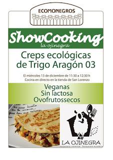 ALLOZA. Sesión de cocina en directo: creps ecológicas (miércoles, 13)