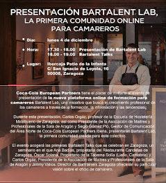 Presentación del Programa Bartalent Lab de Coca Cola (lunes, 4)