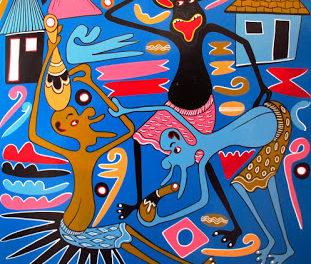 BARBASTRO. Exposición de arte tanzano (hasta el 13 de enero)
