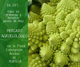 HUESCA. Mercado agroecológico (jueves, 7 y 21)