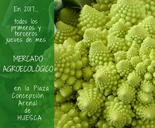 HUESCA. Mercado agroecológico (jueves, 21)