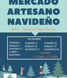 JACA. Mercado artesano navideño (fines de semana de diciembre)
