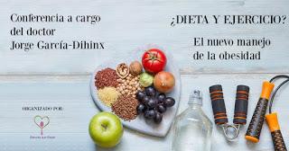Charla, ¿Dieta y ejercicio? (jueves, 21)