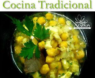 Curso de cocina tradicional en AZAFRÁN (de martes a jueves, del 12 al 14)